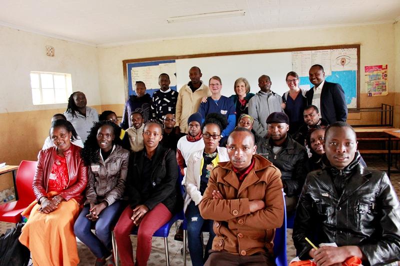 Dr. Bruce leads a four days Medical Workshop with Our Kenyan Medical Team.