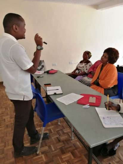 Community Health Volunteers September 2019 Training.