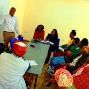 Community Health Volunteers October 2019 Training.