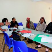 February 2020 Community Health Volunteers (CHVs) Meeting.