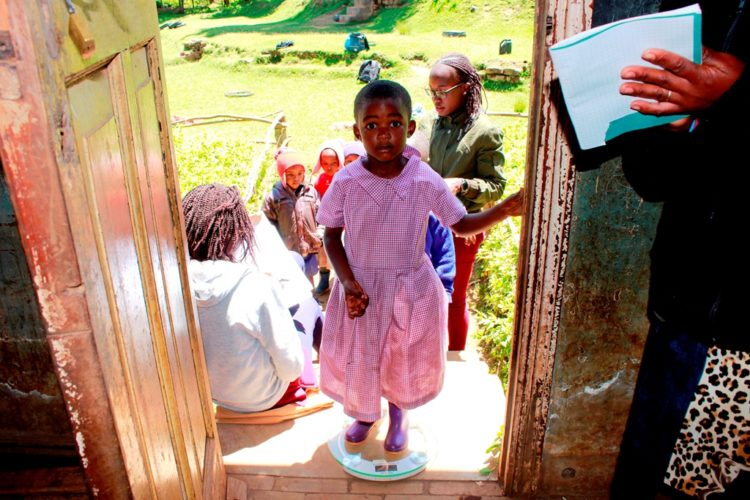 Under 5s Medical Outreach – Mona Village.